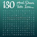 stock-vector-hand-drawn-vector-icons-and-a-chalkboard-background-326522840